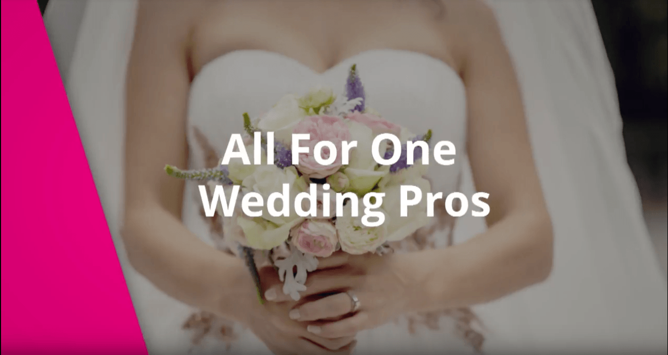 Quick Tip: All For One Wedding Pros